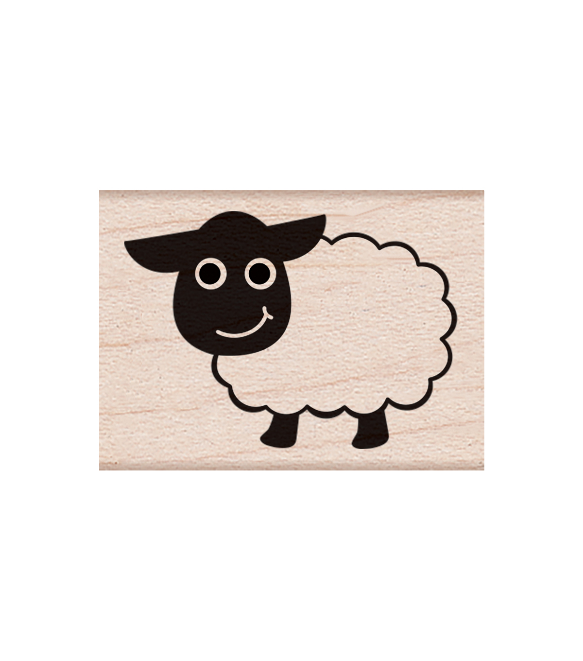Hero Arts® Wood Mounted Rubber Stamp-Little Sheep