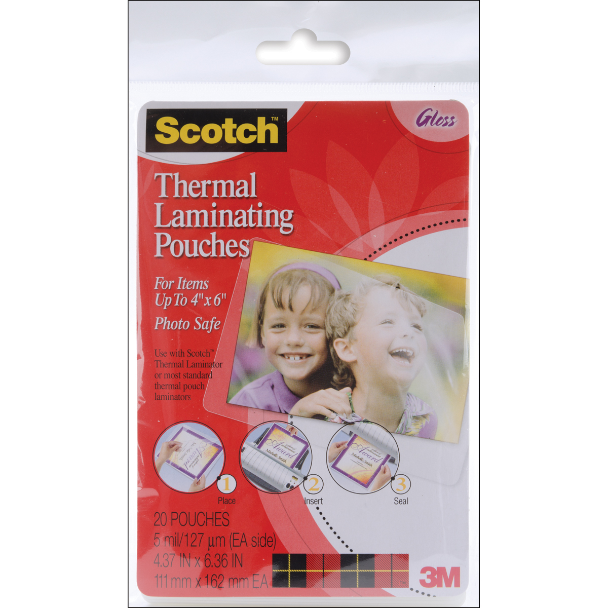 Scotch Thermal Laminator Pouches 20/Pkg