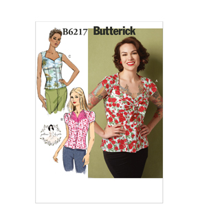 Butterick Misses Top-B6217
