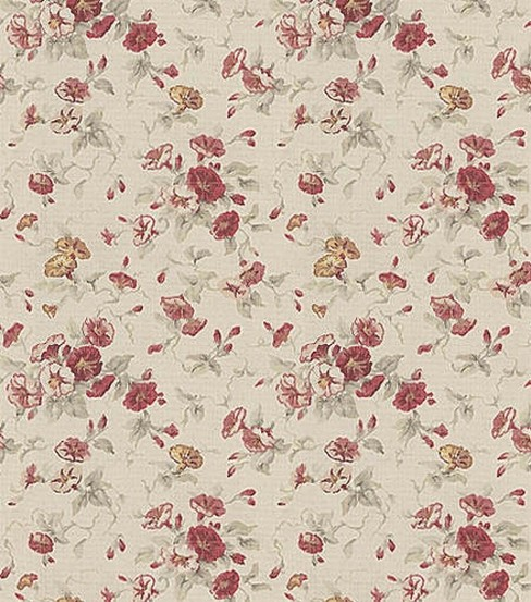 Waverly Upholstery Fabric 54\u0022-Fairhaven Rose