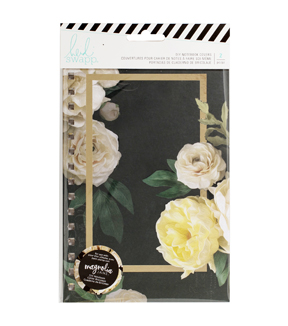 Heidi Swapp Magnolia Jane 2 Pack 5.5''x8.5'' Notebook Pattern Cover