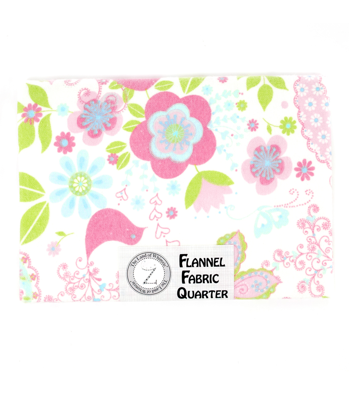 Land of Whimzie Sophie Flannel Fabric Quarter 2 - 1 piece 18\u0022 x 21\u0022