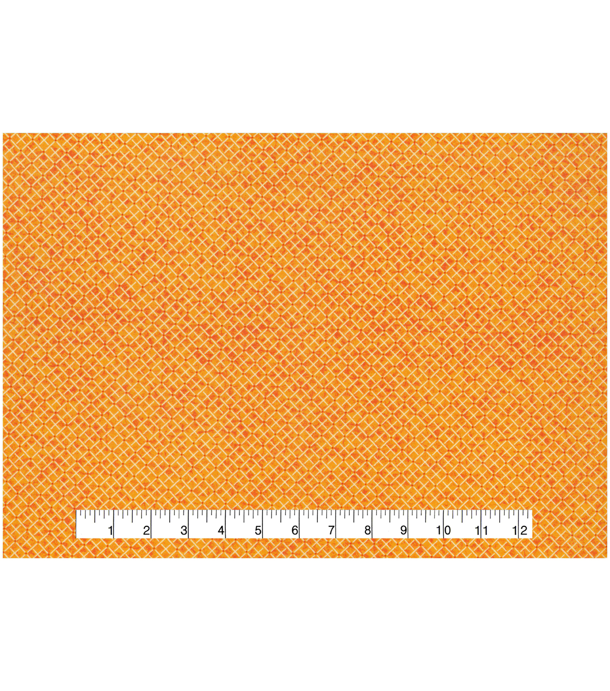 Keepsake Calico™ Cotton Fabric 43\u0022-Cadmium Diamond Blender