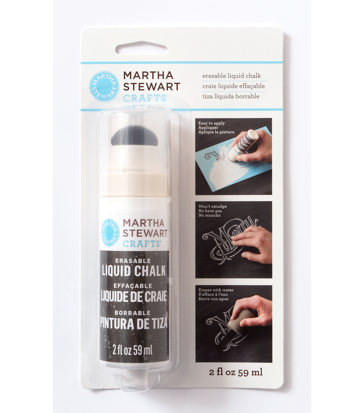 Martha Stewart Crafts ® 2oz Erasable Liquid Chalk - White
