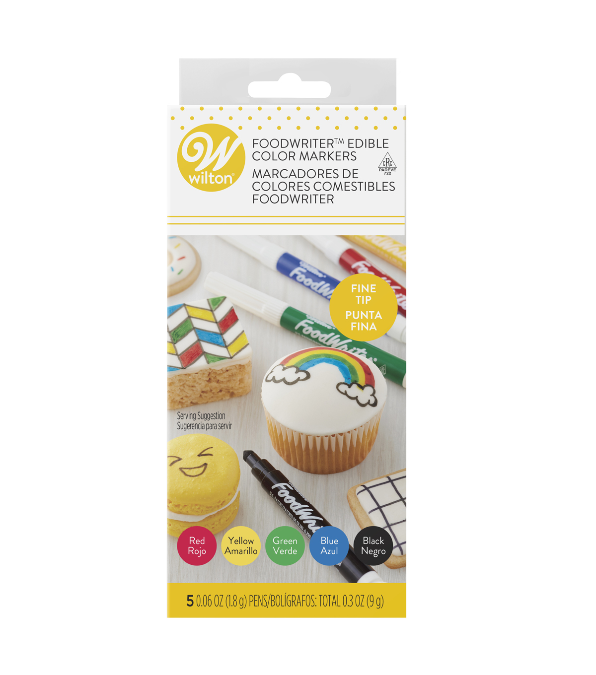 Wilton® Fine Tip Food Writer Edible Color Markers