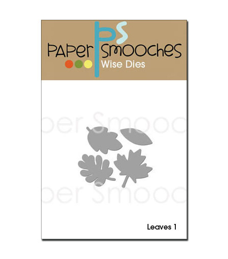 Paper Smooches Die-Leaves 1