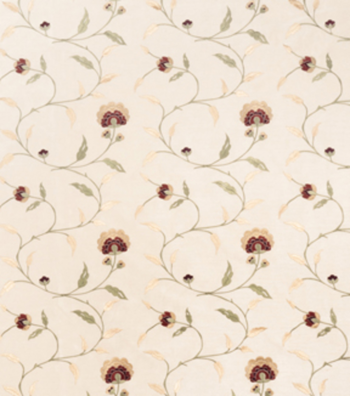 Home Decor 8\u0022x8\u0022 Fabric Swatch-Print Fabric Eaton Square Caesar Beige
