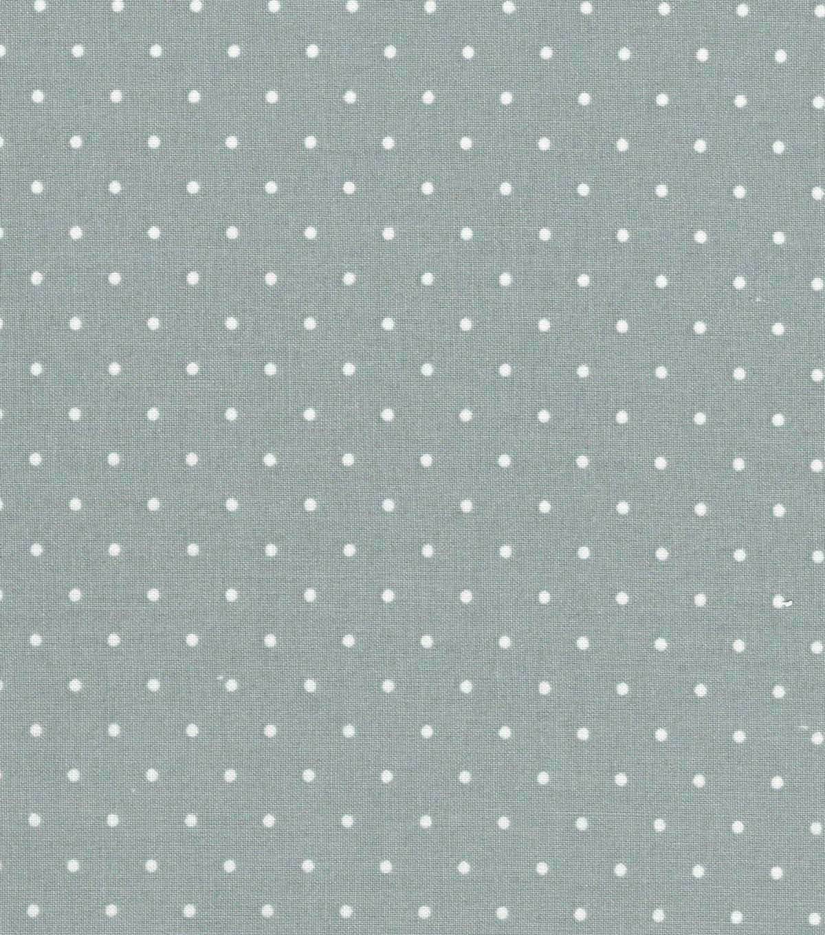 "Quilter's Showcase™ Cotton Fabric 44""-Gray Dot"