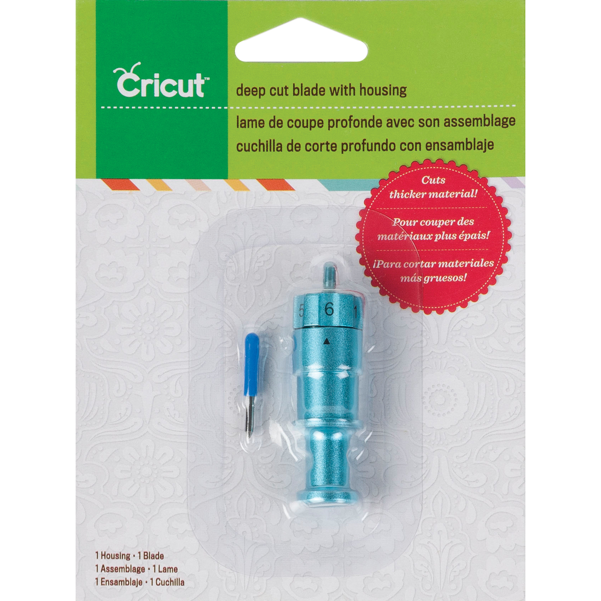 Cricut® Deep Cut Blade with Housing
