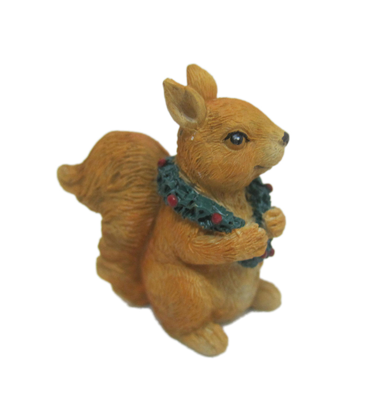 Maker\u0027s Holiday Christmas Littles Resin Squirrel with Scarf