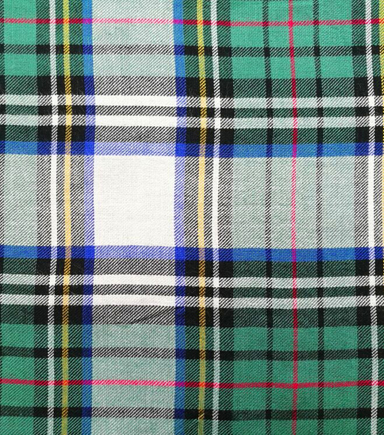 Perfectly Plaid Fabric-Rayon Oatmeal Hunter