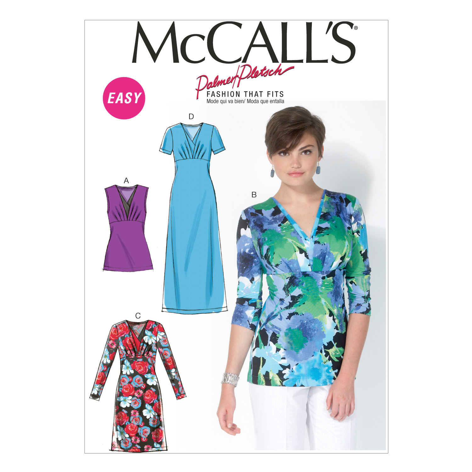 McCall's Misses Top-M7092