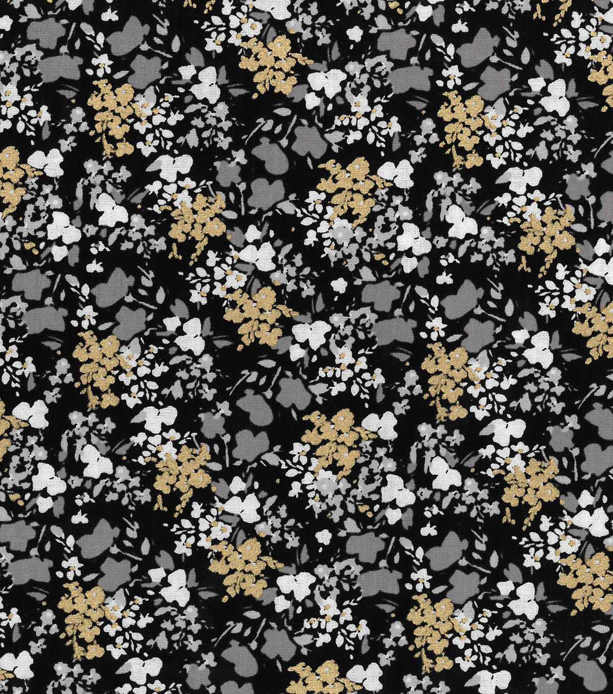 Buttercream™ Audrey Cotton Fabric-Ditsy Floral Allover