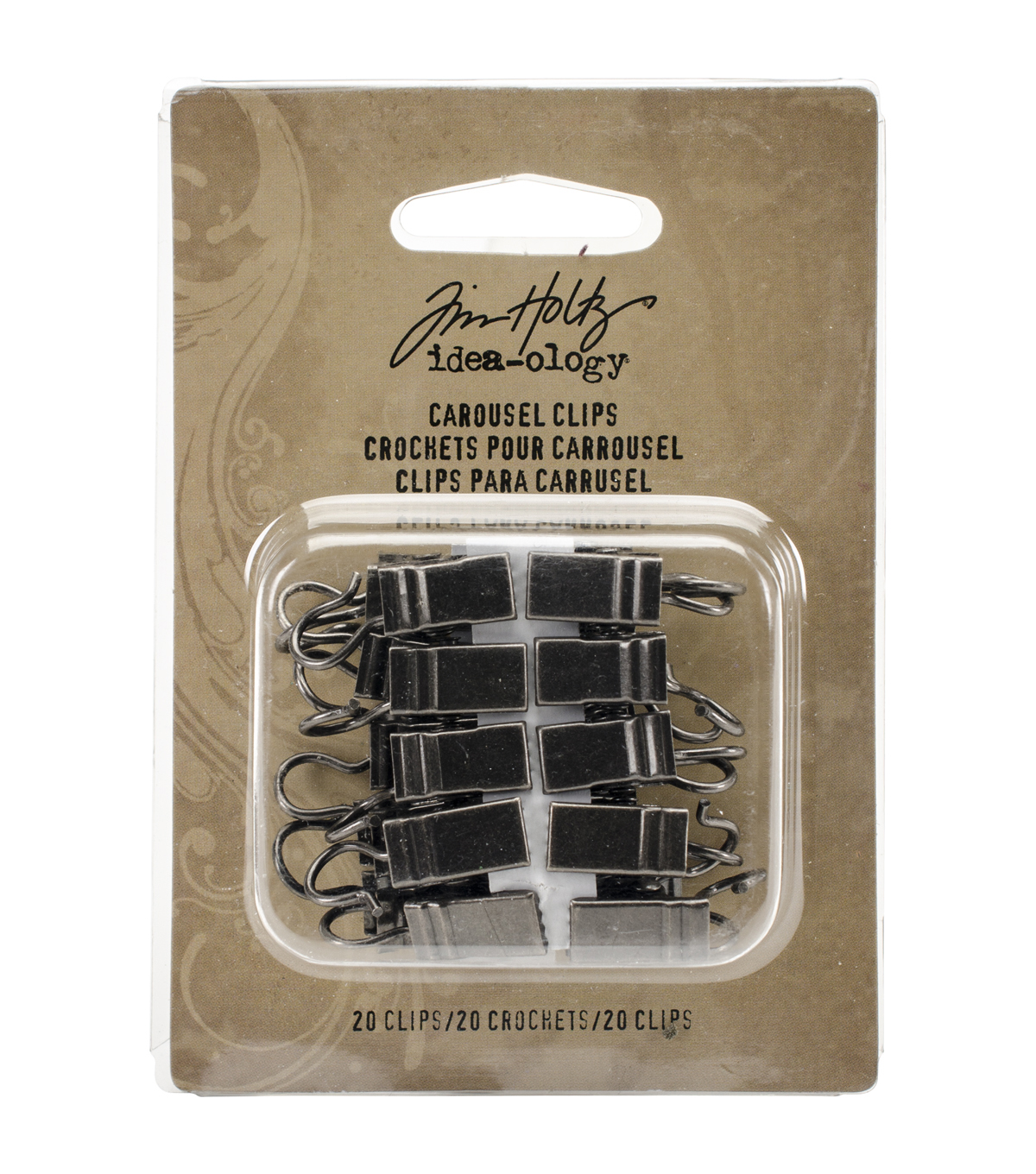 Tim Holtz - Advantus Idea-Ology Carousel Clips