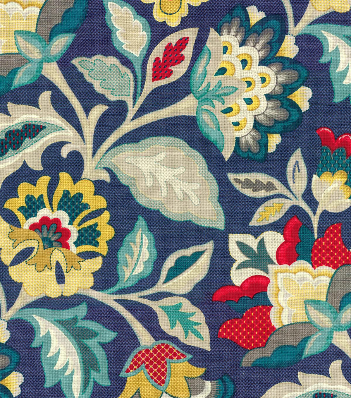 Waverly Upholstery Fabric 54\u0022-Katia Adriatic
