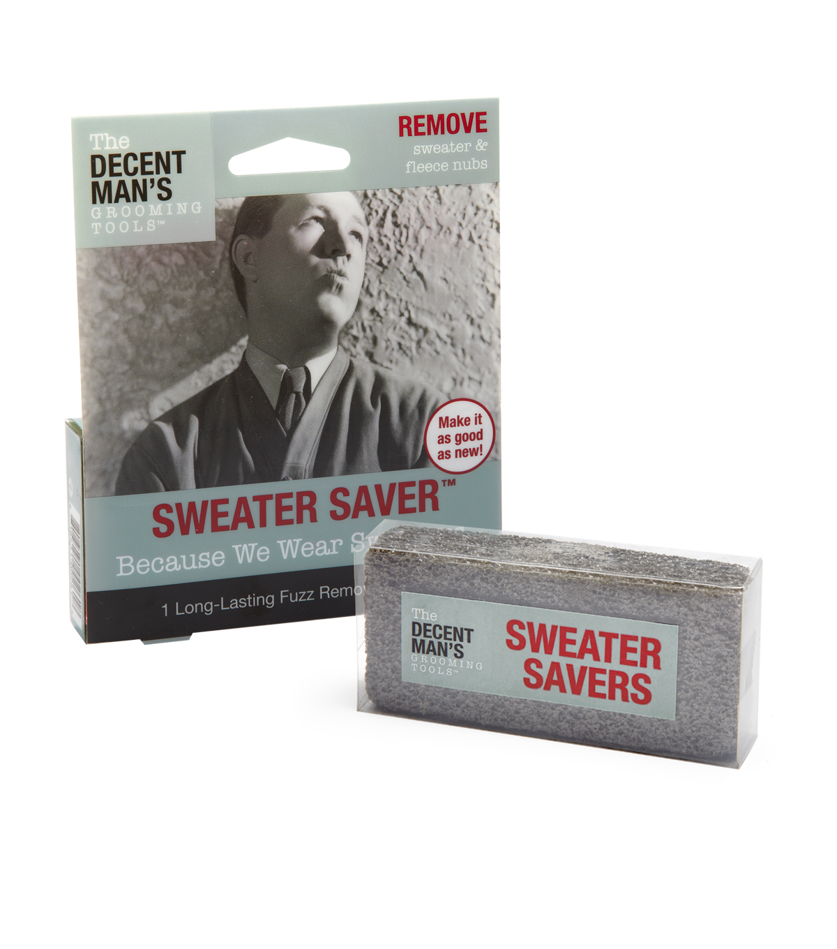 The Decent Man\u0027s Grooming Tools-Sweater Saver