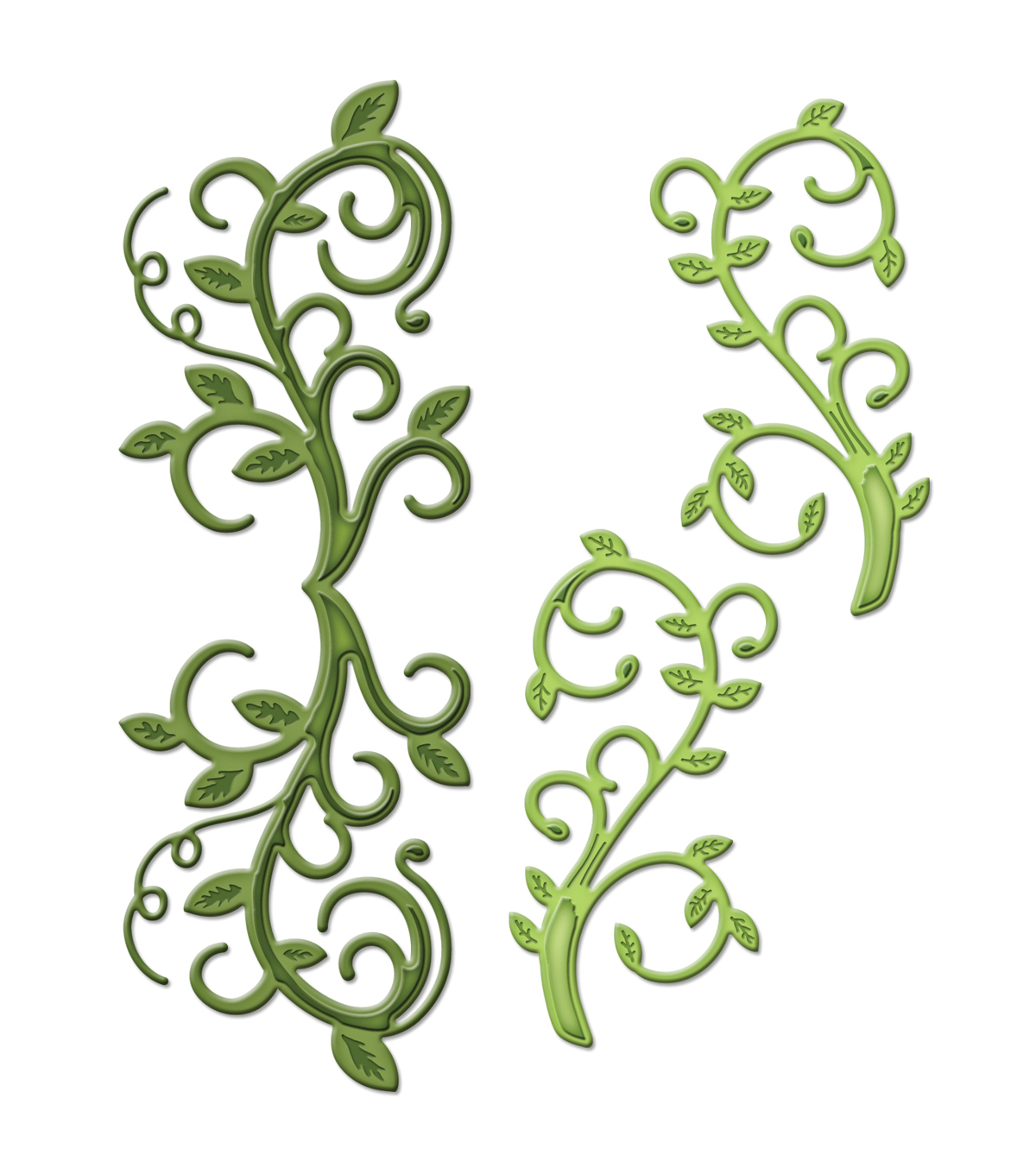 Spellbinders - Foliage Flourish Shapabilities Die