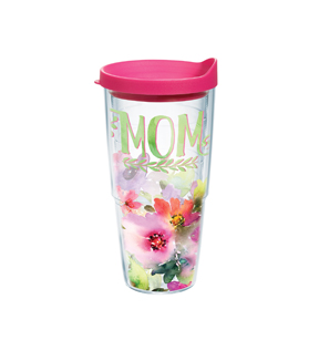 Tervis 24oz. Tumbler-Mom & Watercolor Floral