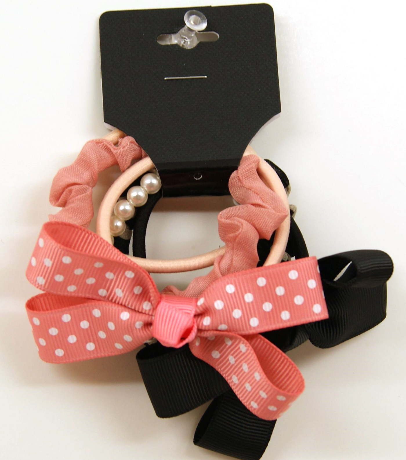 Assorted Elastics With Bows