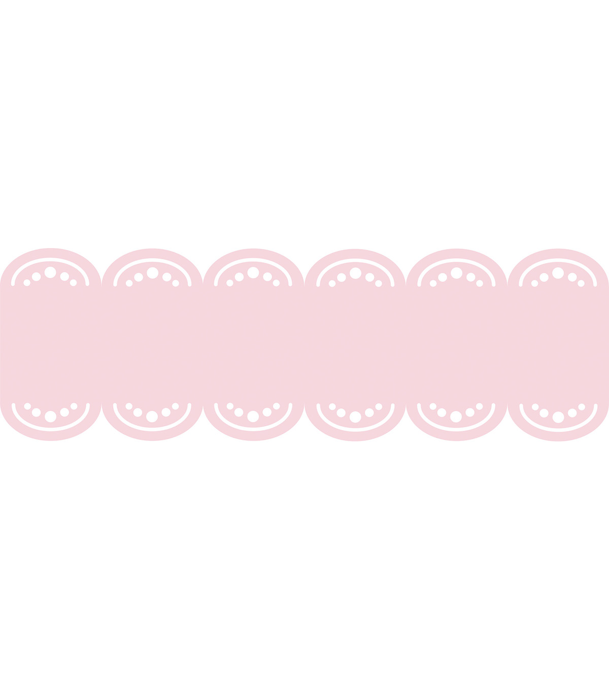 Wall Pops GiGi Pink Stripe Decals, 24 Feet