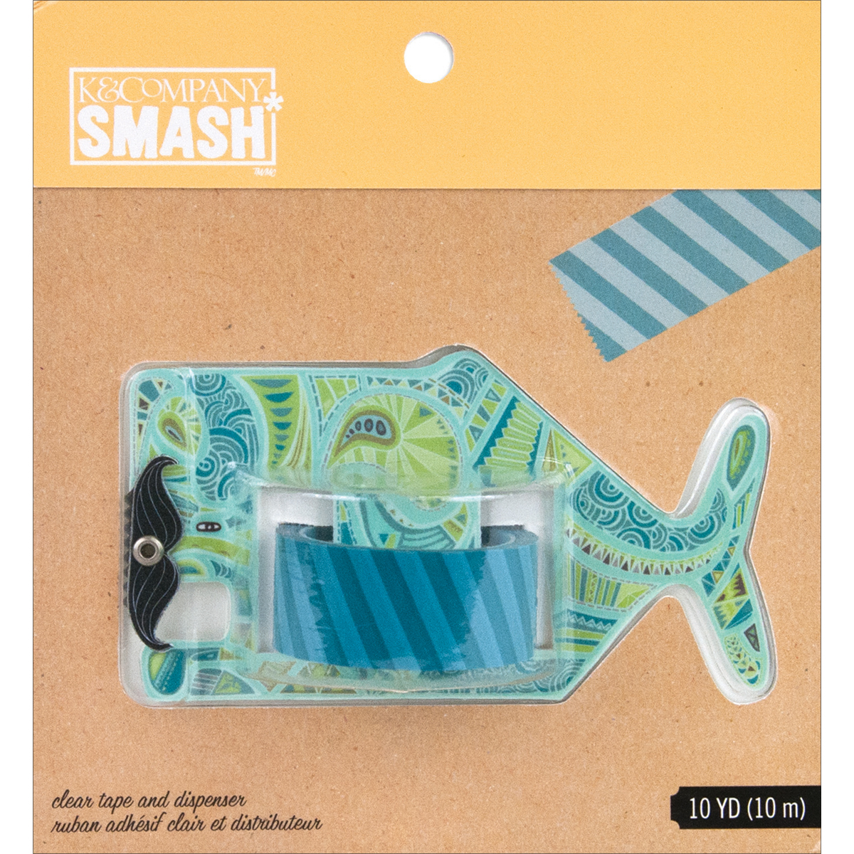 SMASH Tape Dispenser-Whale