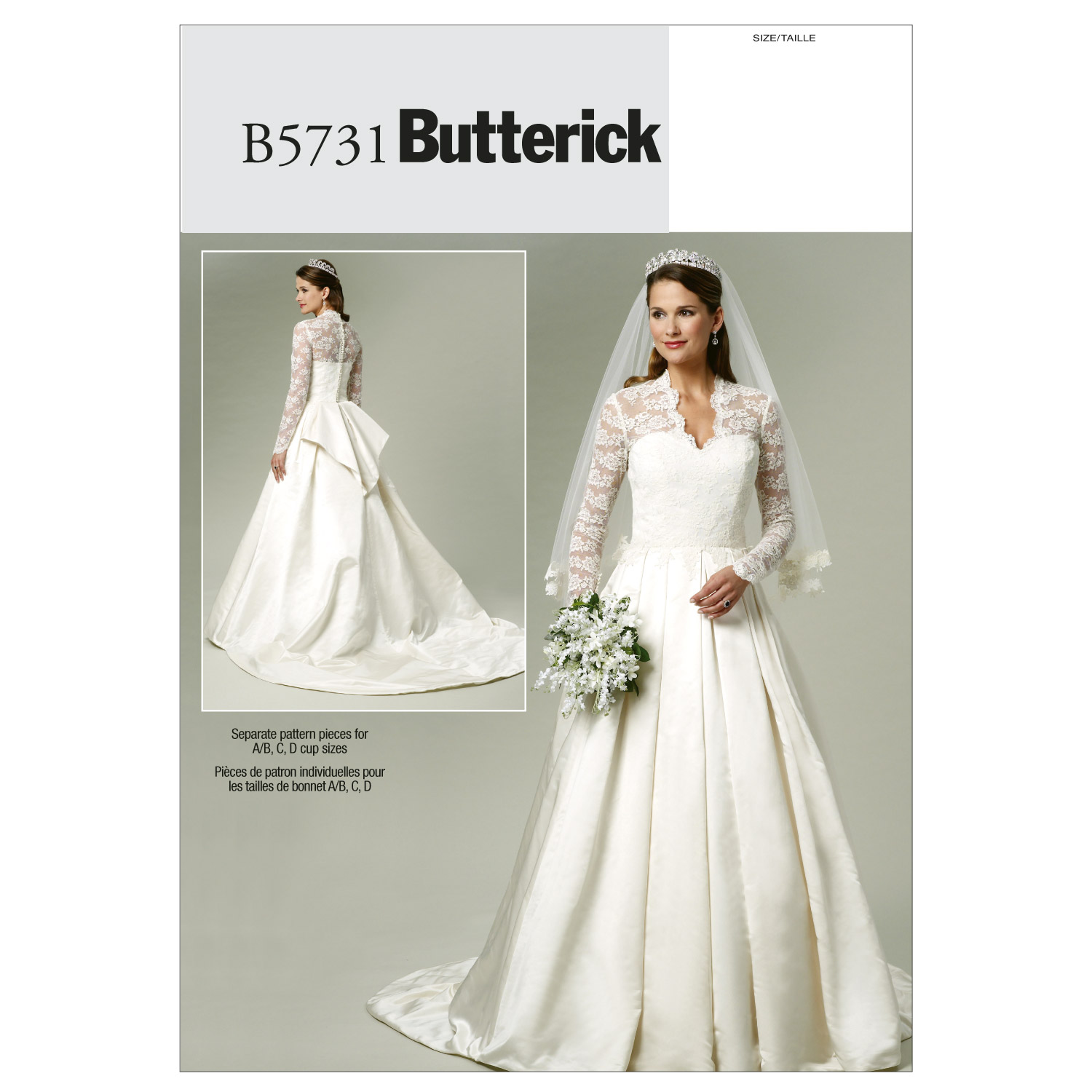 Butterick Misses Bridal-B5731