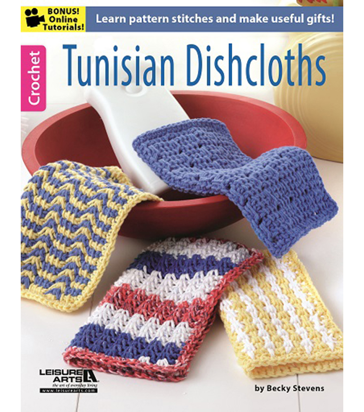 Tunisian Dishcloths