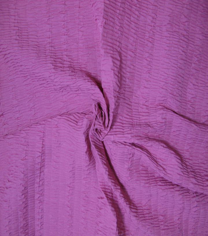 Nicole Miller Crinkle Silky Fabric 51\u0022-Passion Flower