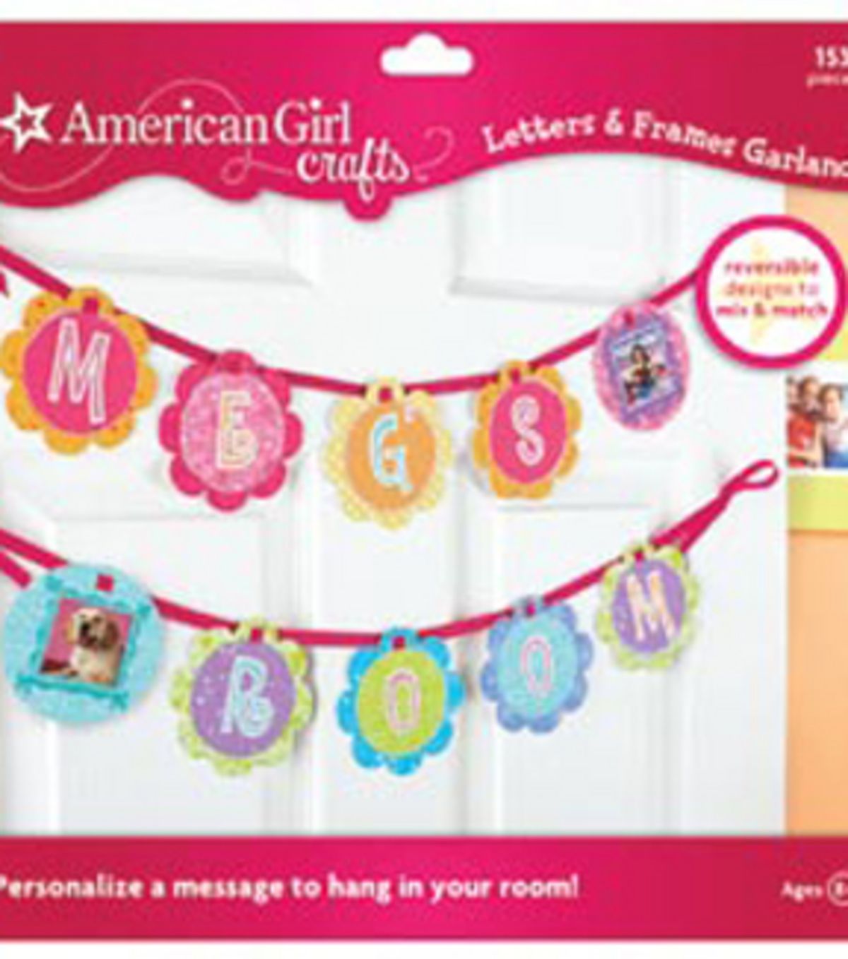 American Girl Garland-Letters & Frames