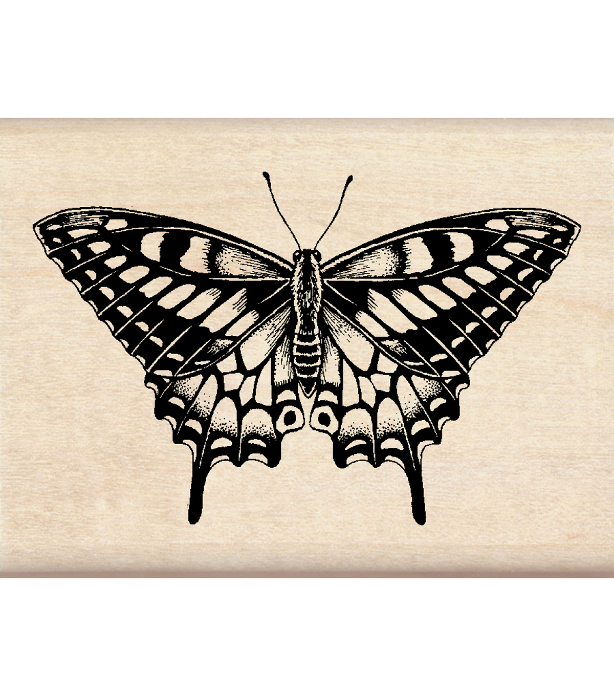 Inkadinkado Butterfly Wood Mounted Stamp