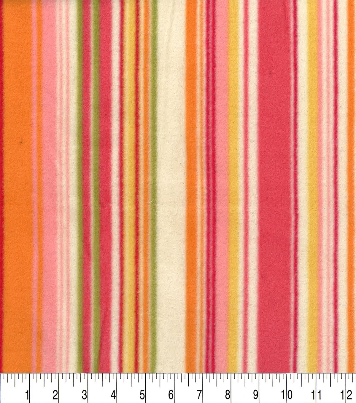 Anti-Pill Fleece Fabric 62\u0022-Madison Stripe
