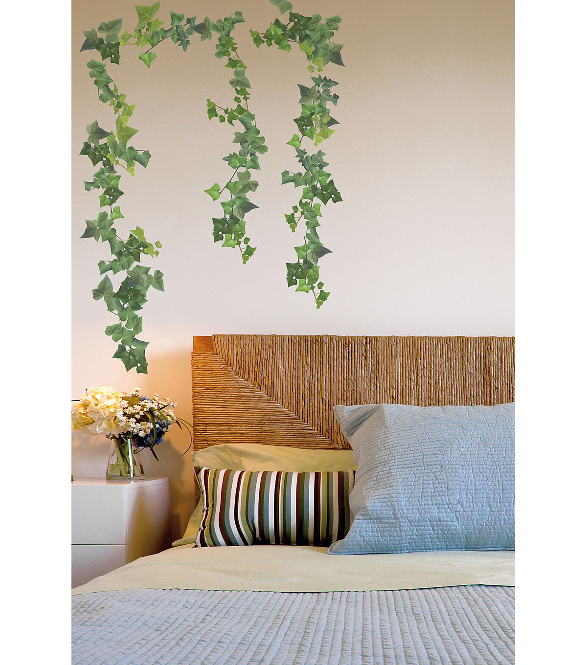 Home Decor Ivy Wall Stickers, 10 Piece Set