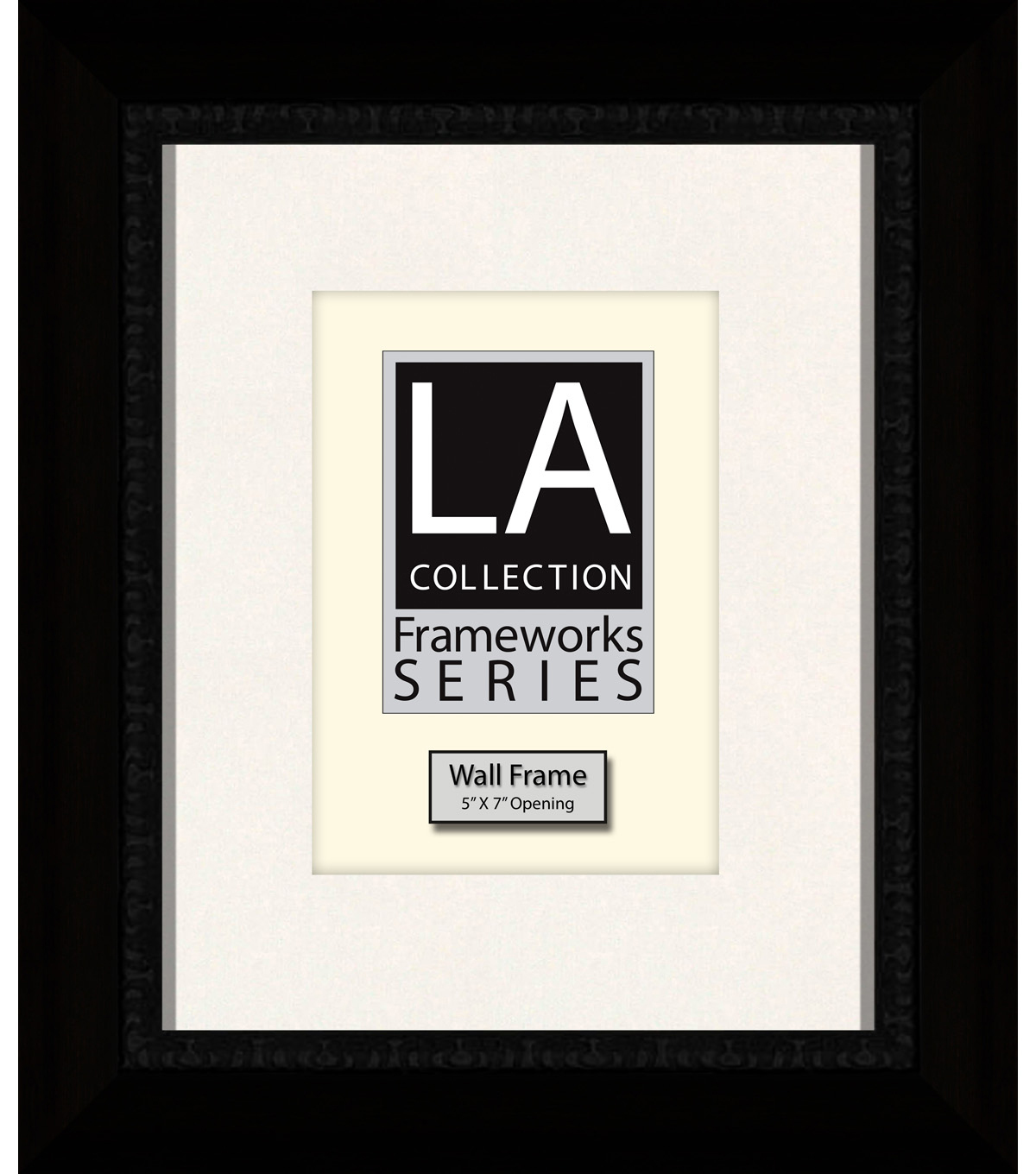 LA Collection Frameworks Series Wall Frame 8\u0027\u0027x10\u0027\u0027-Black
