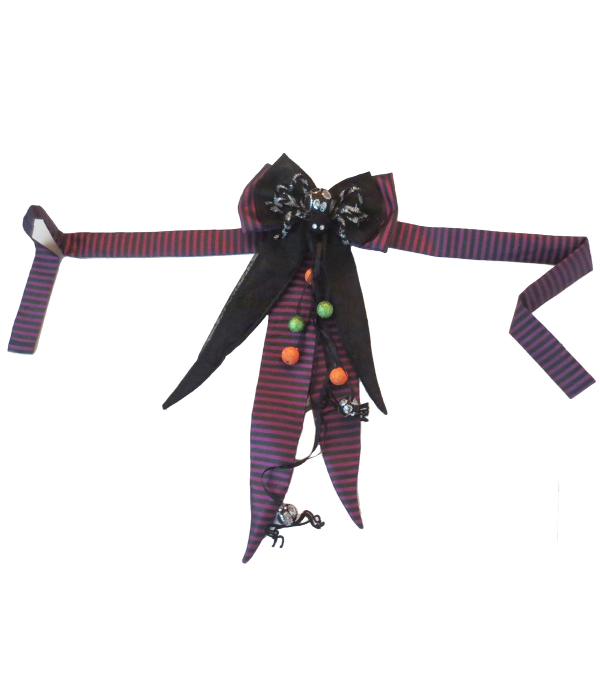 Maker\u0027s Halloween Purple Striped Sash