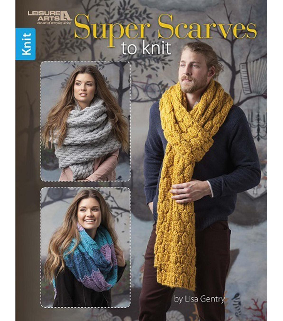Super Scarves To Knit Book