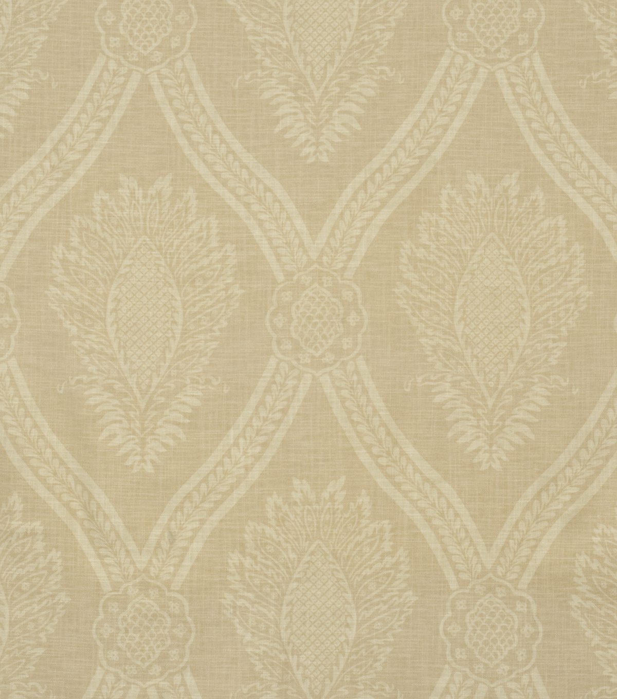 Home Decor 8\u0022x8\u0022 Fabric Swatch-Jaclyn Smith Hollywood-Oatmeal