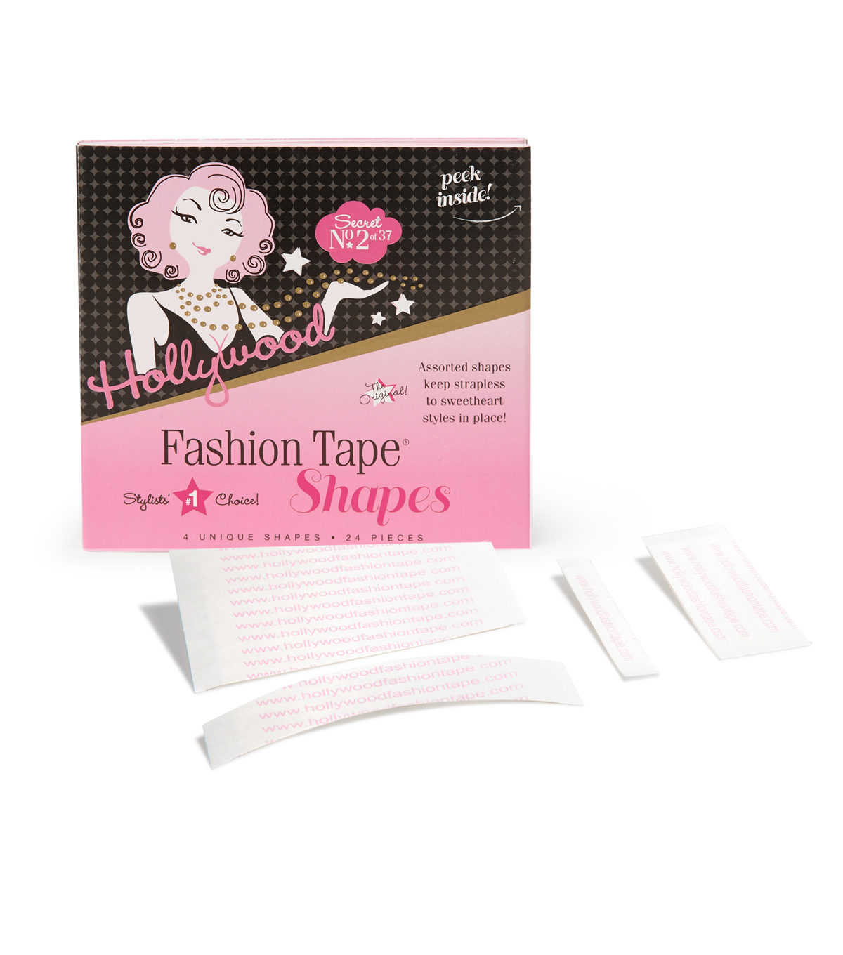 Hollywood Fashion Secrets Tape-24 Double Stick Strips