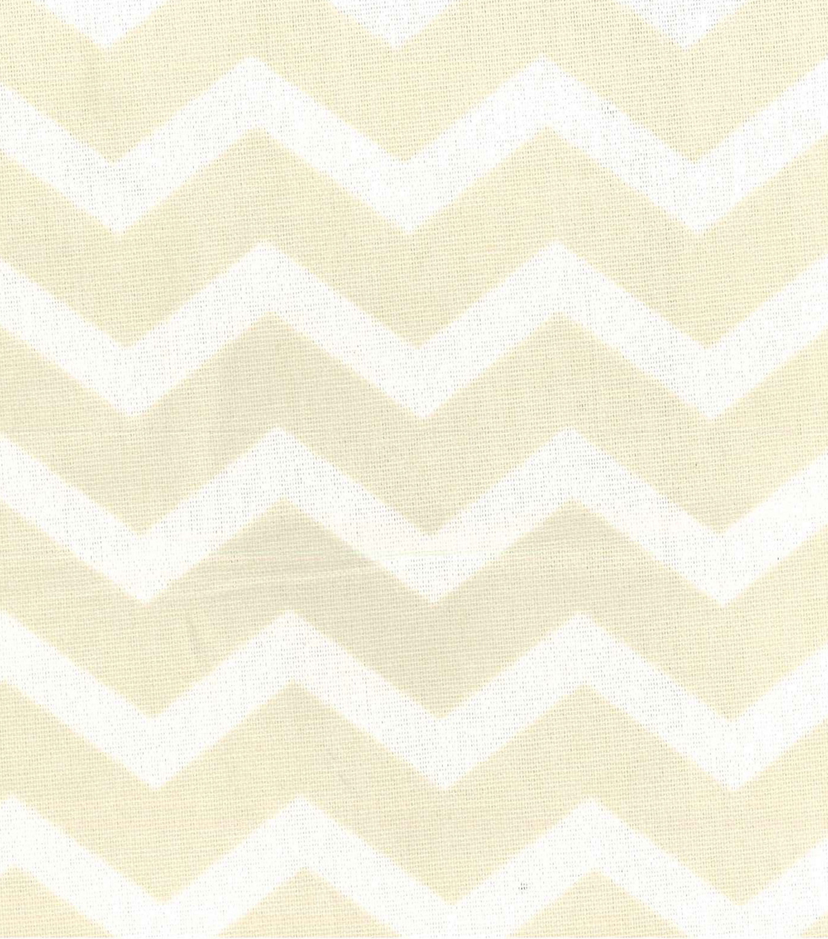 Home Essentials Print Fabric 45\u0022-Cream Chevron