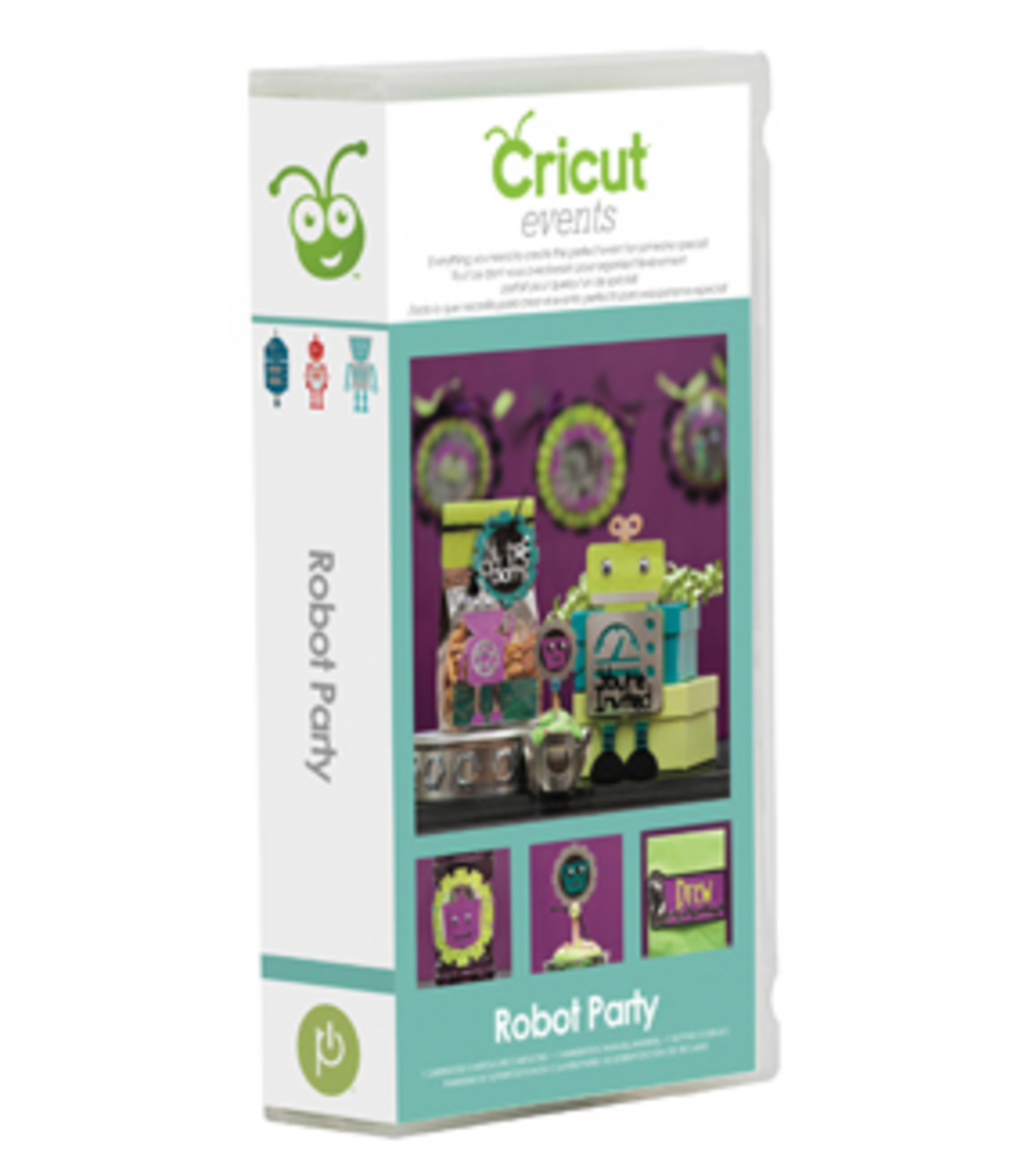 Cricut Events Shape Cartridge-Robot Party