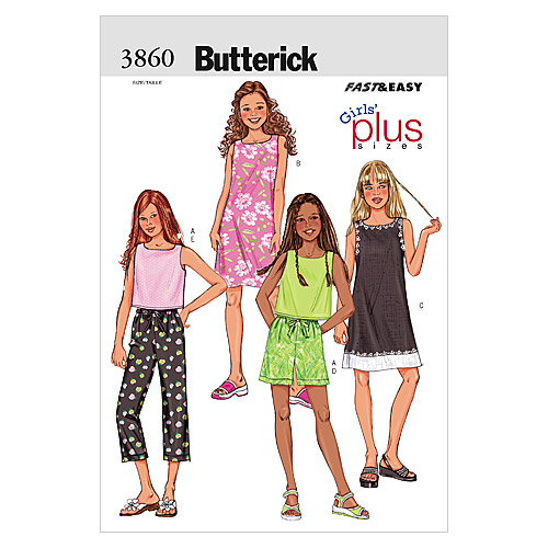 Butterick Girls\u0027 Casual-B3860