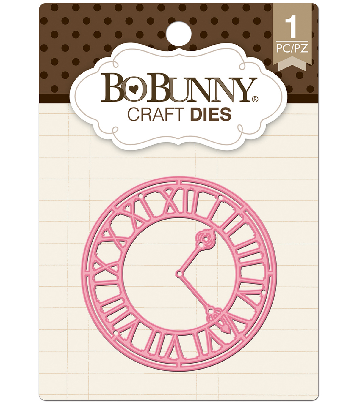 BoBunny Essentials Dies-Tick Tock