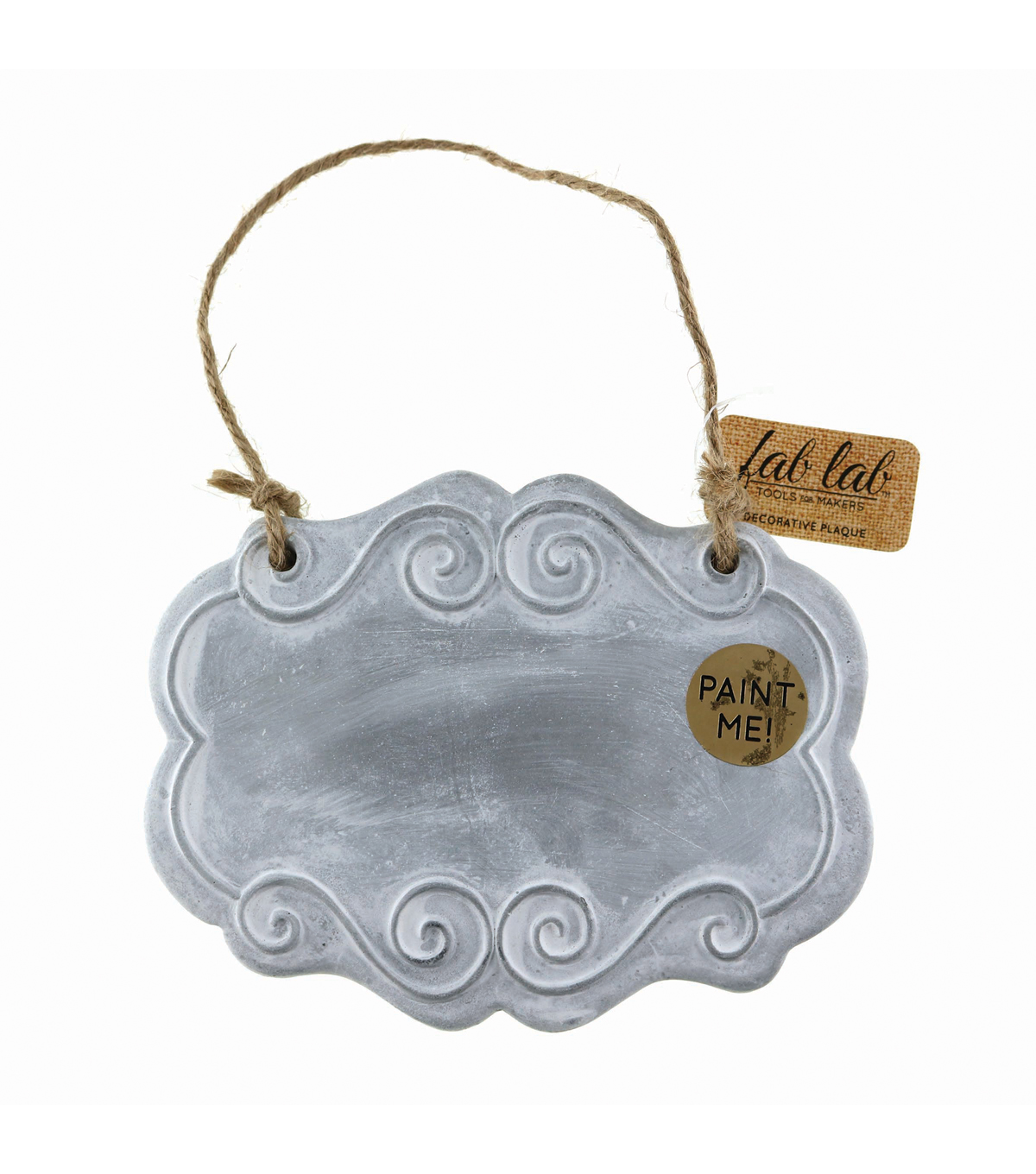 Fab Lab™ Oval Decorative Plaque with Hanger