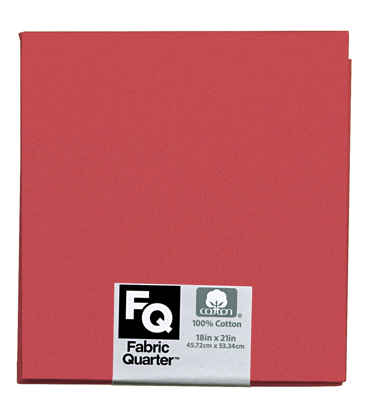 "Fabric Quarters Cotton Fabric 18""-Coral"