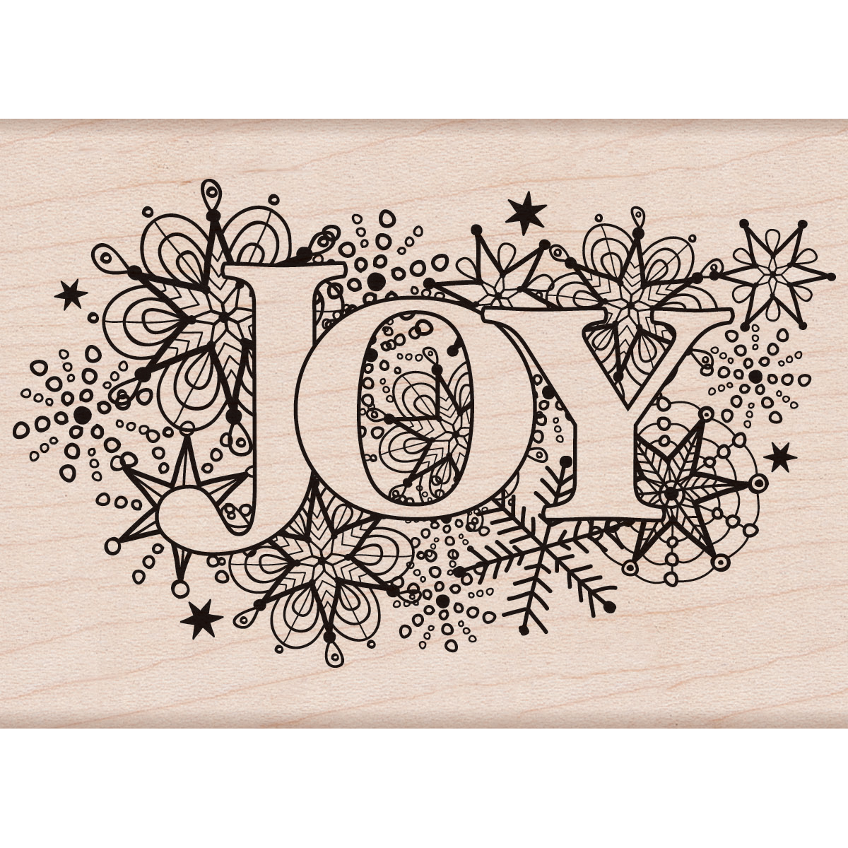 Hero Arts Mounted Rubber Stamps Joy Burst