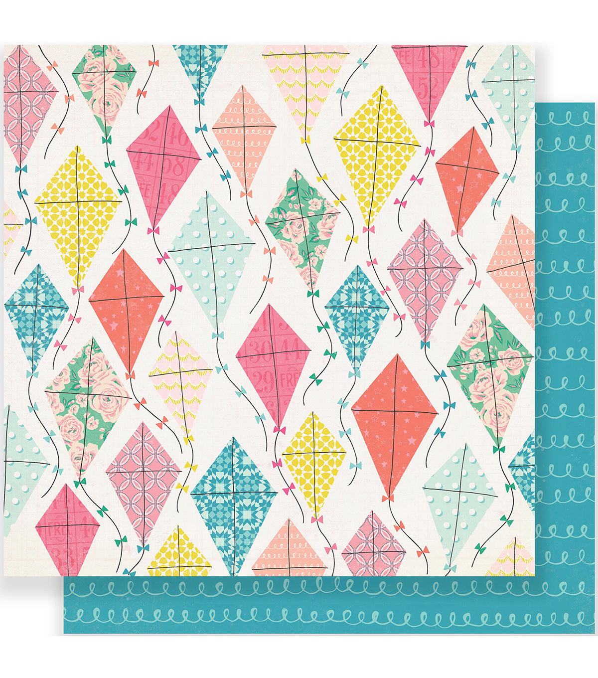 Maggie Holmes Carousel Double-Sided Cardstock 12\u0022X12\u0022-Summertime