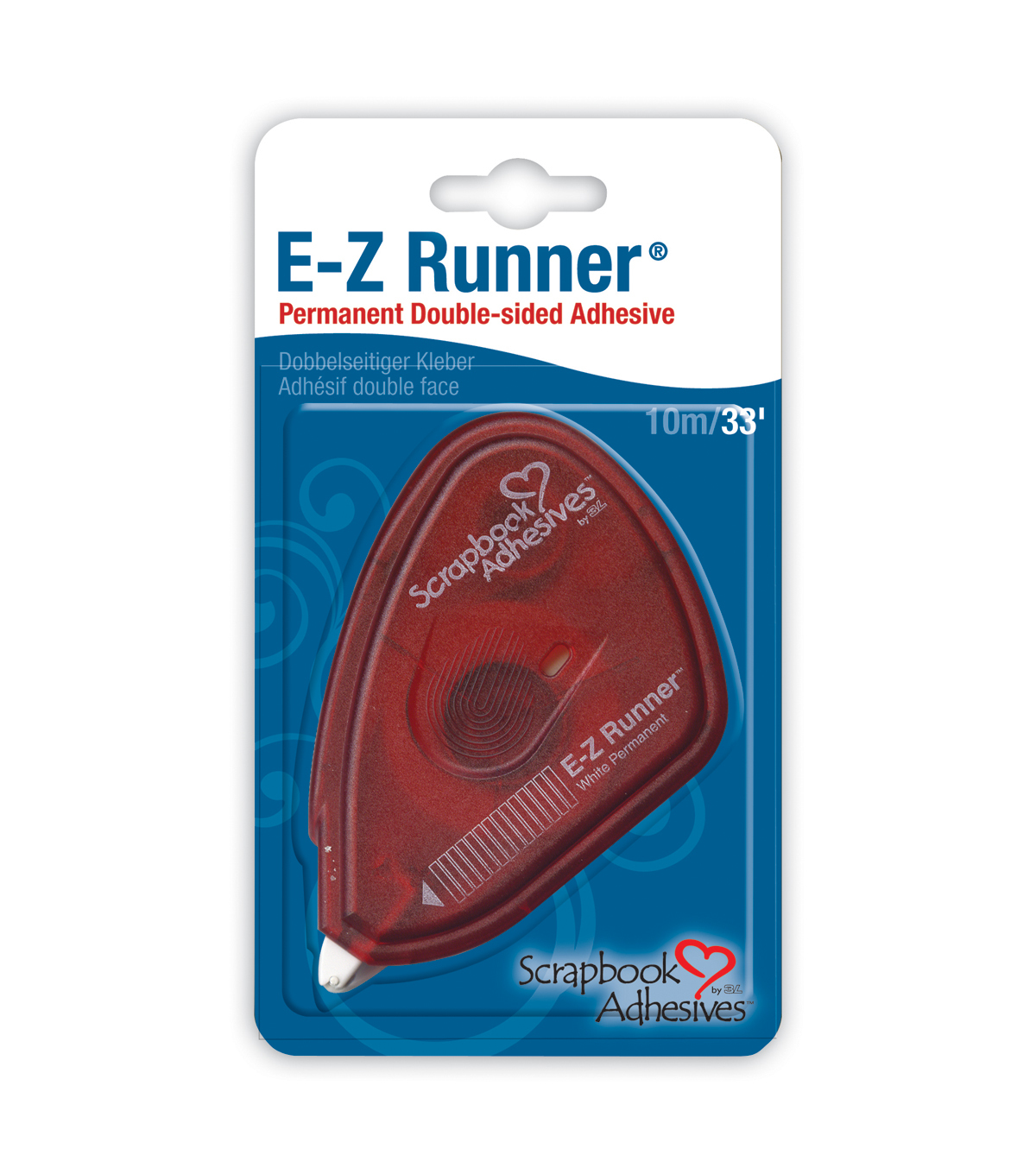 PERMANENT-E-Z RUNNER TAPE