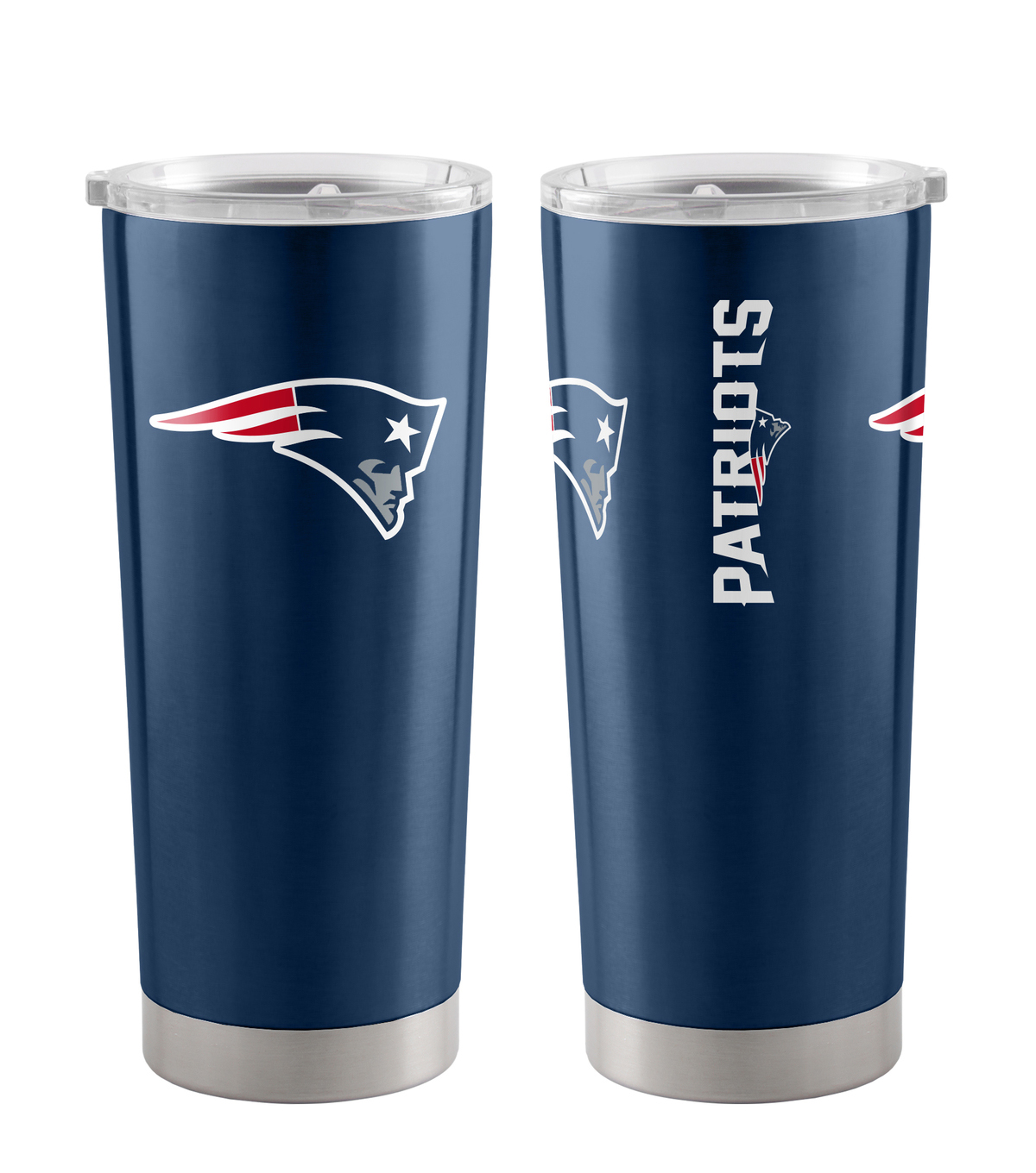New England Patriots 20 oz Insulated Stainless Steel Tumbler
