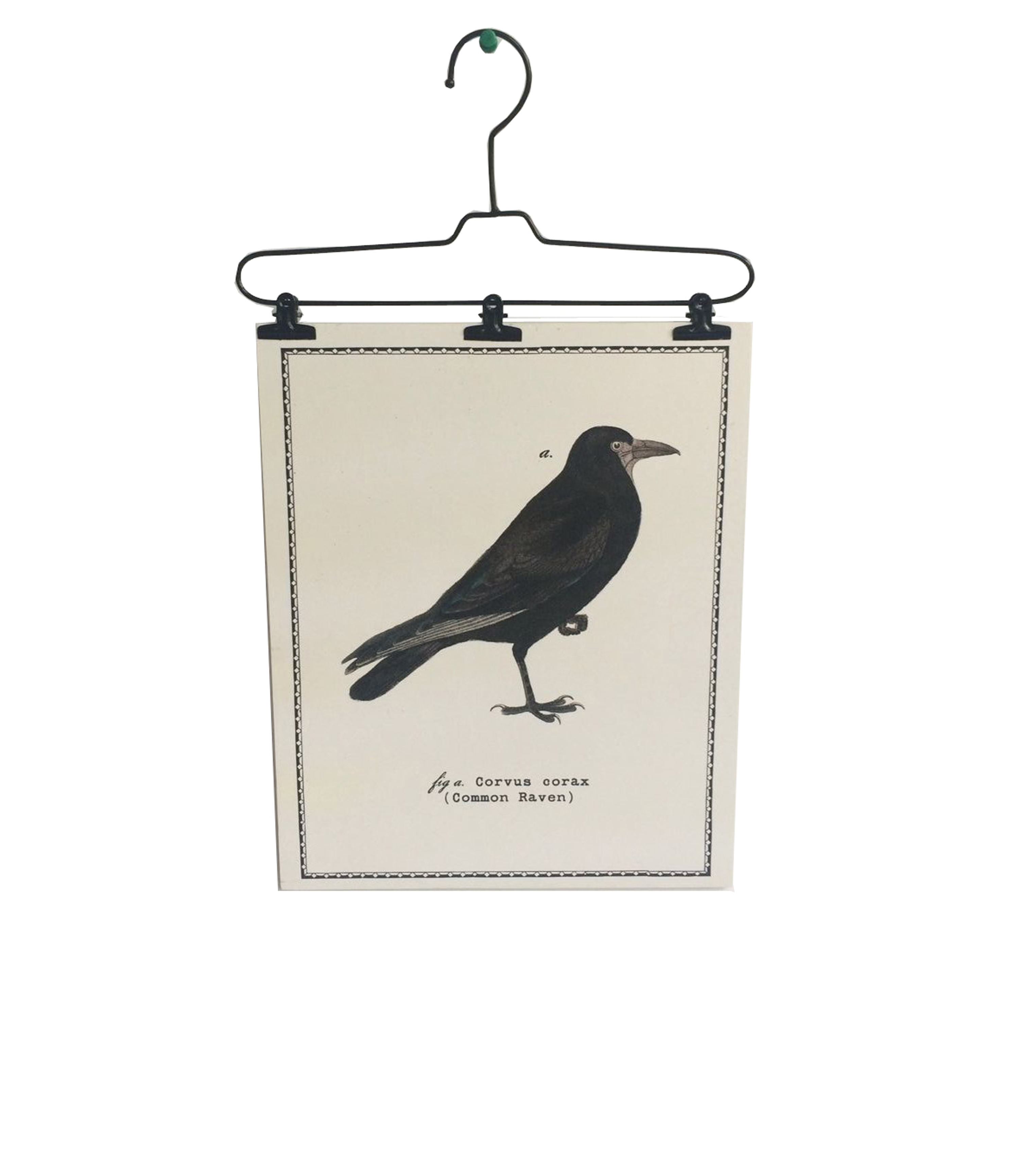 Maker\u0027s Halloween Wire Hanger Wall Decor-Raven