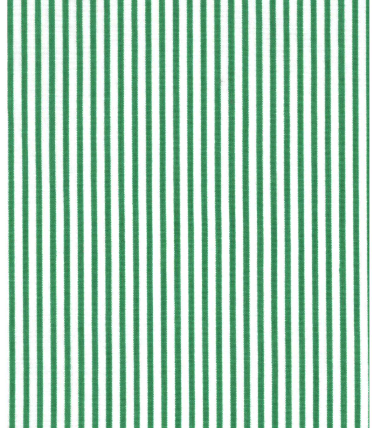 Holiday Showcase™ Christmas Cotton Fabric 43\u0027\u0027-Green & White Stripes