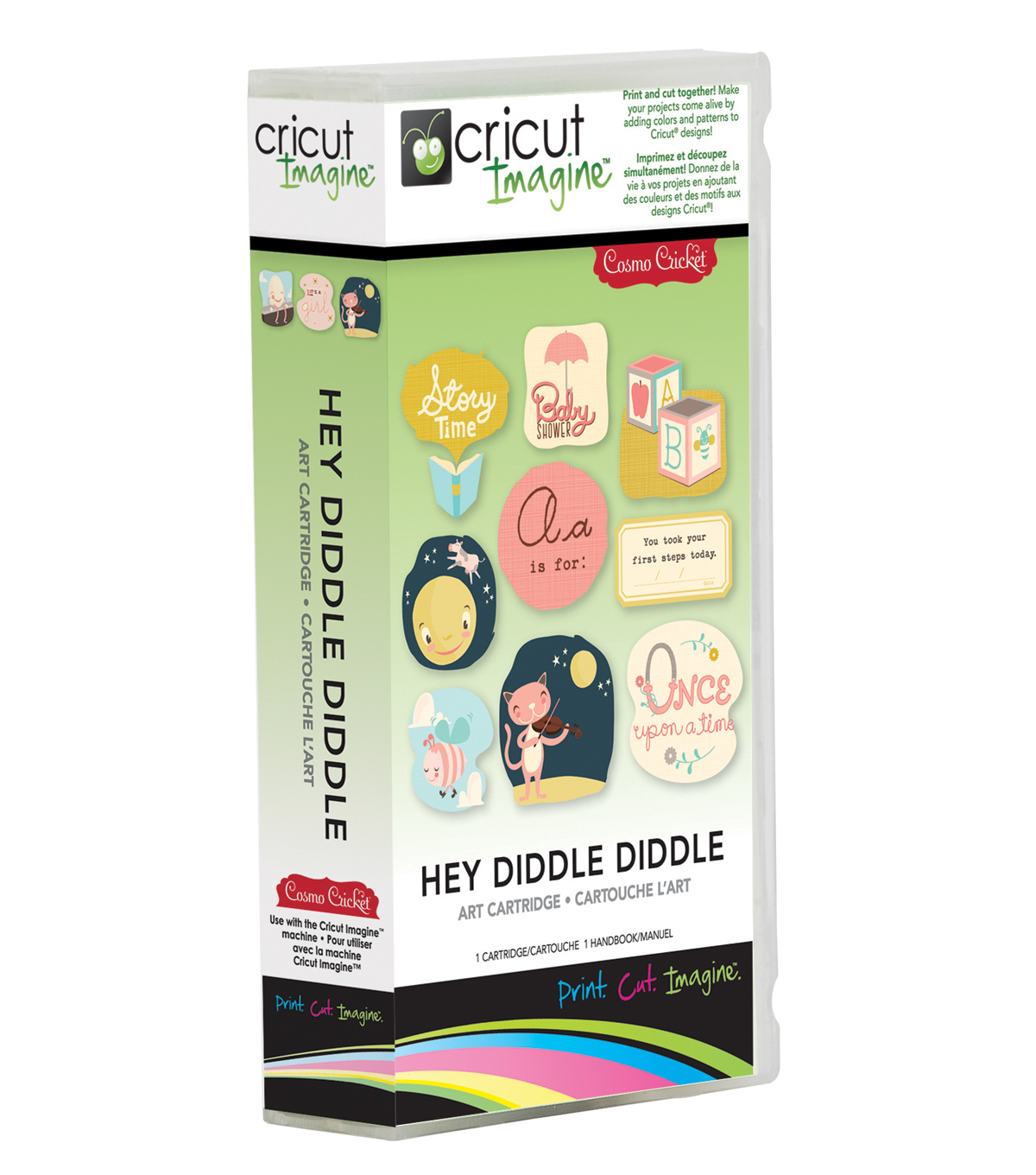 Provo Craft® Cricut® Imagine Art Cartridge-Hey Diddle Diddle